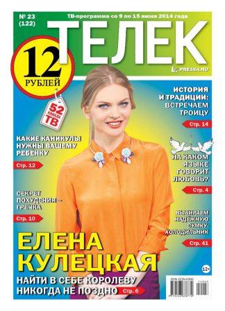 №23(122). Елена Кулецкая
