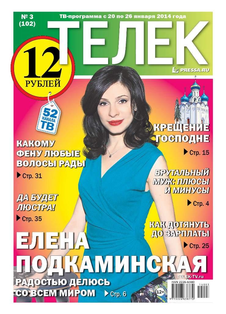 №3(102). Елена Подкаминская